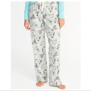 160b7adc0c4a New Old Navy Women's Flannel Sleep Pants - Cats XL